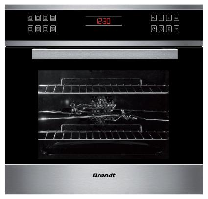 Lò nướng đa năng Brandt FC1045XS nhập khẩu nguyên chiếc từ Pháp