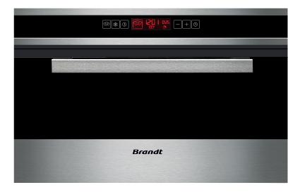 Lò hấp Brandt FV1000X nhập khẩu nguyên chiếc từ Pháp.