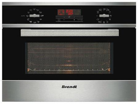 Lò vi sóng kèm nướng Brandt ME1255X nhập khẩu nguyên chiếc từ Pháp.