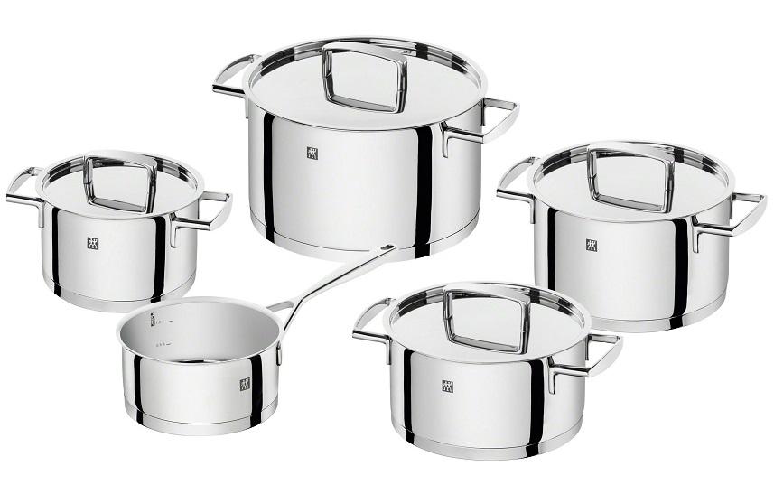 Bộ nồi Zwilling Passion 5 món 66060-000 - Siêu thị thiết bị nhà bếp  KitchenHome